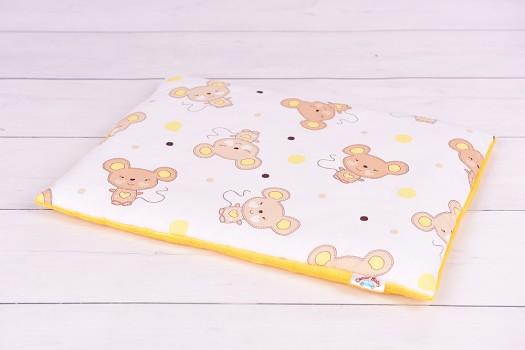 Poduszka niemowlaka, płaska (30 x 40 lub 40 x 60)