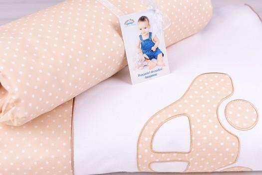 Pościel dla niemowlaka z wypełnieniem (75x100, 30x40)