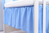 Falbana maskująca do łóżeczka (60x120 lub 70x140)
