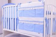 Przybornik/organizer na łóżeczko