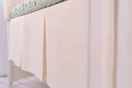 Falbana maskująca do łóżeczka