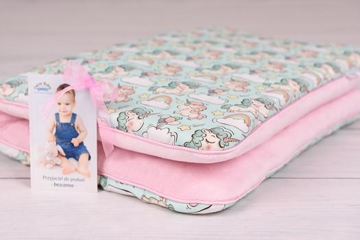 Poduszka dla dziecka płaska 40x60