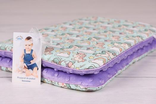 Poduszka niemowlaka, płaska 40 x 60