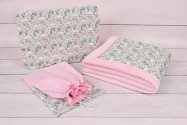 Wyprawka niemowlaka (kocyk + poduszka + woreczek)