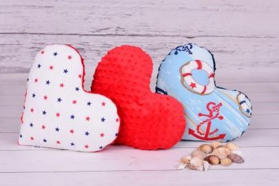 Poduszka dekoracyjna - serduszko