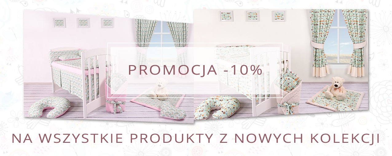 Promocja -10% na nowe kolekcje